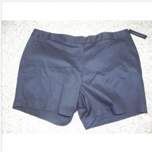 Counterparts Womens Shorts Plus Size 24W Black NWT